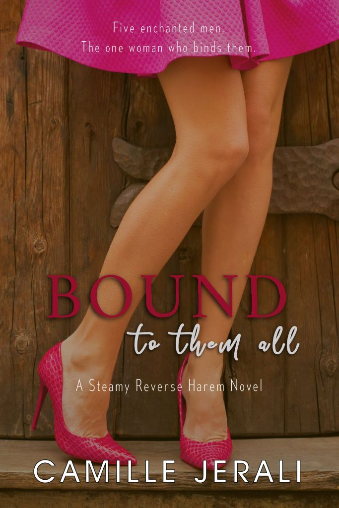 Book Cover: Bound to Them All: A Steamy Reverse Harem Novel